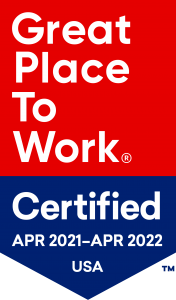 Great Place to Work Certified Banner